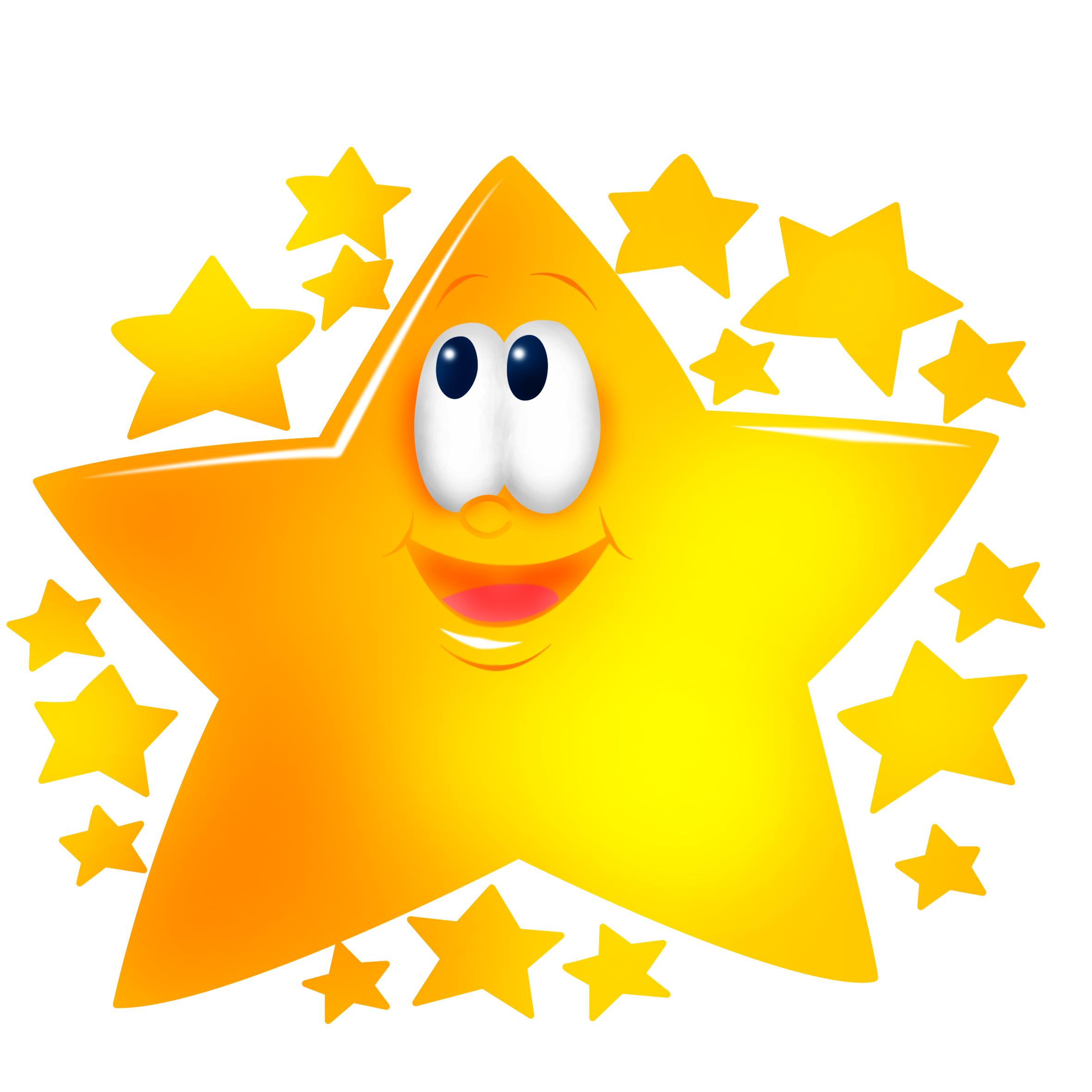 Прикольные рисунки звезды